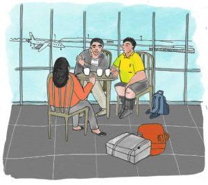 Kapitola 5 – Před odletem