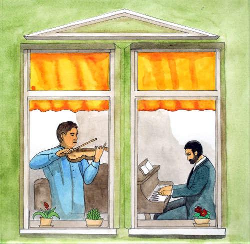 Kapitola 5 – Ptačí řev a hudba